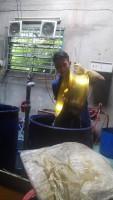 Nhuộm vàng mâm xe mô tô